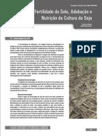 Fertilidade Do Solo Adubação e Nutrição Da Cultura Da Soja