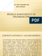 _modeloburocratico de La Organizacion