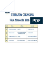 Ciencias 2015 III
