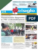 Edicion Impresa El Siglo 24-08-2015