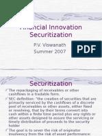 Securitization of Banks