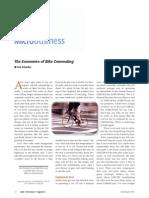 The Economics of Cycling