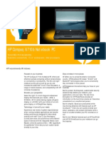 HP Compaq 6710b Notebook PC
