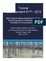 IEEE Std 81 Tutorial Handouts