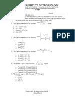 Feedback and Control System - Quiz 1