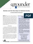 Robotics and the Next Steps for National Security -Bg2344