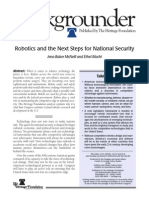 Robotics and the Next Steps for National Security -Bg2344