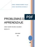 Modulo Vi (Problemas de Aprendizaje) Oficial