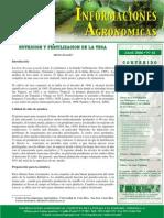 Nutrición y Fertilización de La Teca