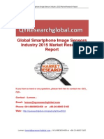 Global Smartphone Image Sensors Industry 2015 Market Research Report
