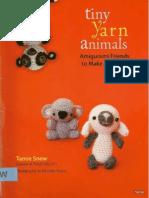 Tiny Yarn Animals