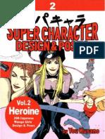 Super Character Design & Poses Vol. 2 Heroine