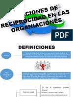 reciprocidad en la organizaciones
