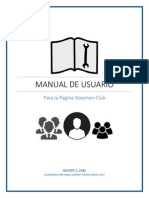 Manual de Usuario Pagina Cubsexyman