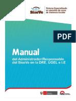 Manual Usuario Administrador SISEVE