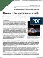 Página_12 __ Economía __ El Sur Que El Viejo Modelo Condenó Al Olvido