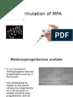 Depot Formulation of MPA.pptx