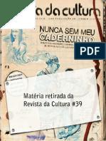 Revista Cultura 39 - Sketchbooks