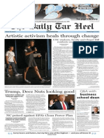 The Daily Tar Heel for Aug. 24, 2015