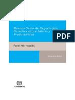 Buenos Casos de Negociación Colectiva Sobre Salario y Productividad Caso FORD (1)