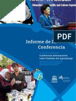Conferencia Ciudades Del Aprendizaje