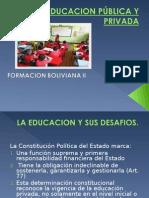 Educacion Pública y Privada Lic