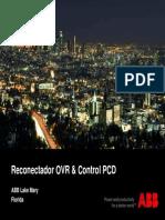 Reconectador Ovr & Control Pcd