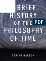 A Brief History of the Philosophy of Time-Adrian Bardon