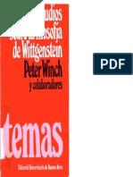 Estudios Sobre La Filosofia de Wittgenstein