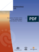 DKCRC Report 52 Economics of Feral Camel Control in the Central Region of the Northern Territory