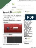 Crear Cuenta DDNS Gratuita HIKVISION