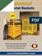 Material Basket Brochure