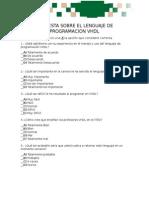 Encuesta Sobre El Lenguaje de Programacion Vhdl