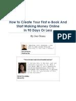 How to Start an Ebook Business