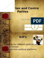 Agrarian and Centre Parties