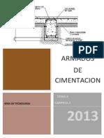 c2 Tema 8 Armados de Cimentacin