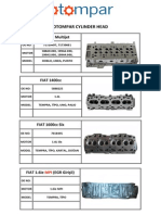 Otompar Cylinder Head List