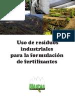 Uso de Residuos Industriales Para La Formulacion de Fertilizantes
