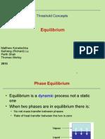 Equilibrium Threshold Presentation