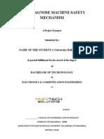Auto Diagnose Machine Safety Mechanism