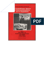 El trotskismo obrero e  intemacionalista en la Argentina. Tomo 1. Del GOM a la Federación Bonaerense del PSRN (1943-1955)