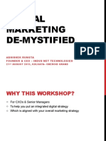 Digital Marketing Demystified