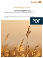 Swedbank Economic Outlook August 2015