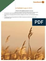 Swedbank Economic Outlook August 2015