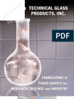 Technical Glass Products Incorporated Was Founded In
