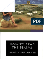 Tremper Longman   How to Read the Psalms