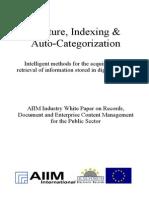 [EN] DLM Forum Industry Whitepaper 01 Capture Indexing & Auto-Classification | Christa Holzenkamp | Hamburg 2002