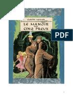 IB Voilier Claude Le Manoir Des Cinq Preux (Original BS) 1957