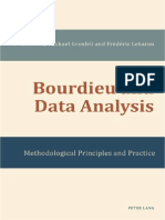 Bourdieu Data Analysis