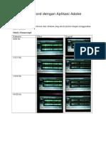 Frekuensi Record Dengan Aplikasi Adobe Audition